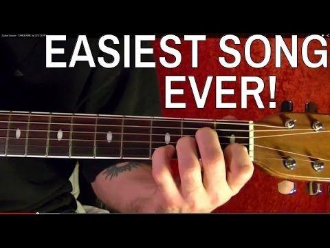 Easiest Led Zeppelin Solo Tangerine Guitar Lesson Youtube