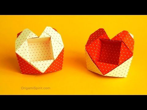 Cajita Origami básica (Caja con tapa). Mis básicos de ... - photo#17