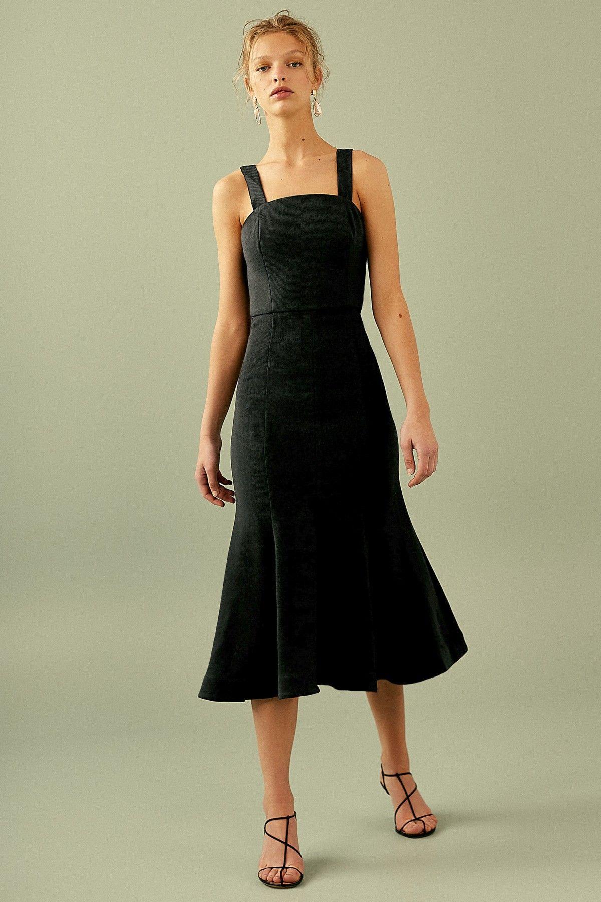 Apex Midi Dress Black C Meo Collective Bnkr Dresses Prom Midi Dress Black Midi Dress [ 1800 x 1200 Pixel ]