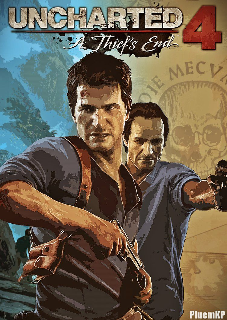 Uncharted 4 A Thief S End Poster 2 By Pluemkp Deviantart Com On