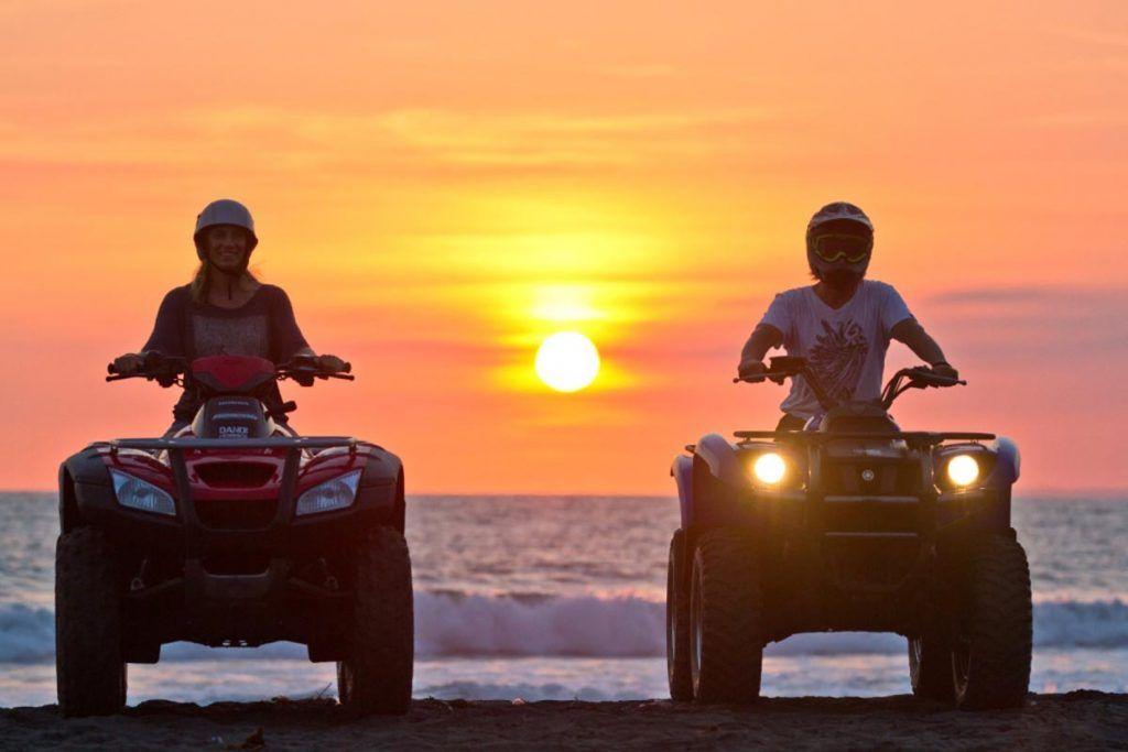 Bali atv and quad bike tour beach or forest ausindo