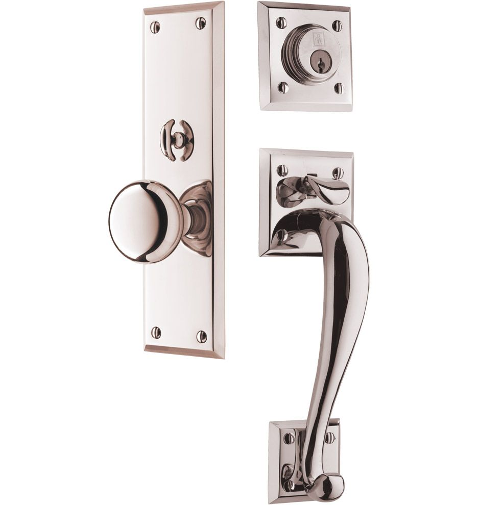 Rejuvenation Coleman Classic Knob Exterior Door Set Pinterest