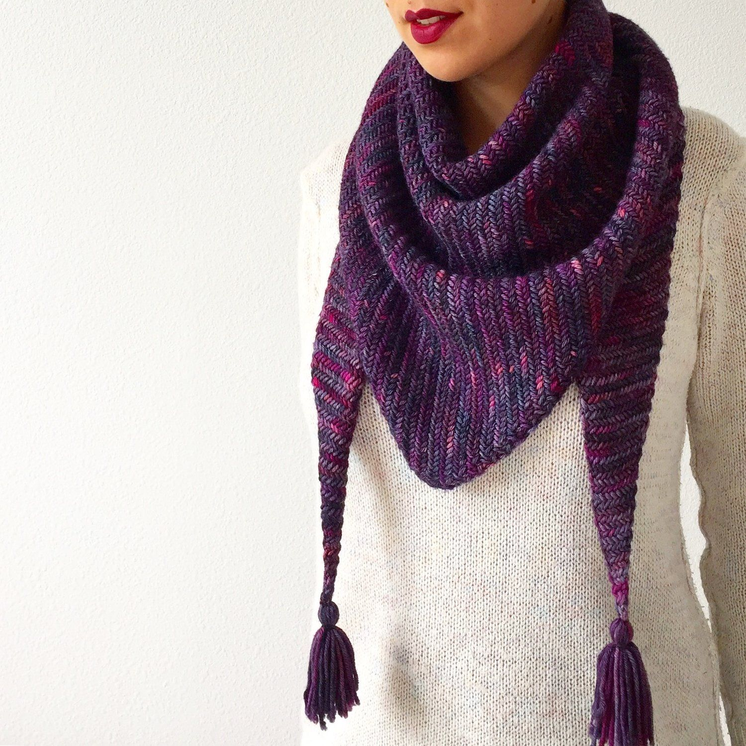 How to knit Sorceress Scarf | Knitting | Pinterest | Knitting ...