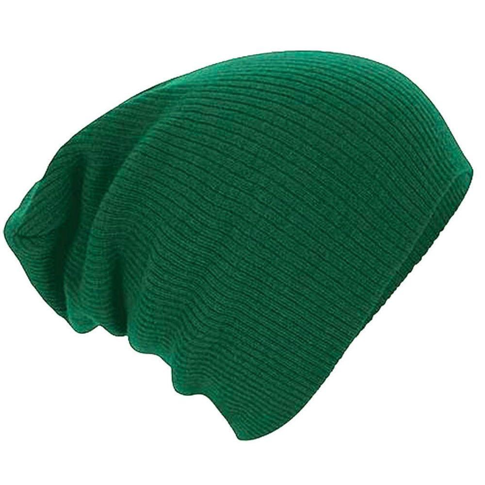 b514b7615af Men s Women s Knit Baggy Beanie Oversize Winter Hat Ski Slouchy Chic Cap   fashion  clothing