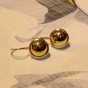 Najo Earrings - Brass