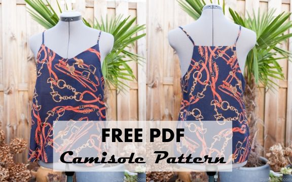 Download the free camisole pattern in pdf format It\'s finally ...