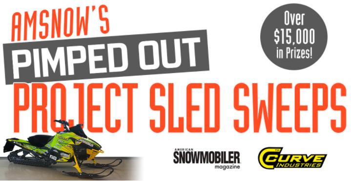American Snowmobiler Win a Custombuilt Arctic Cat Sled