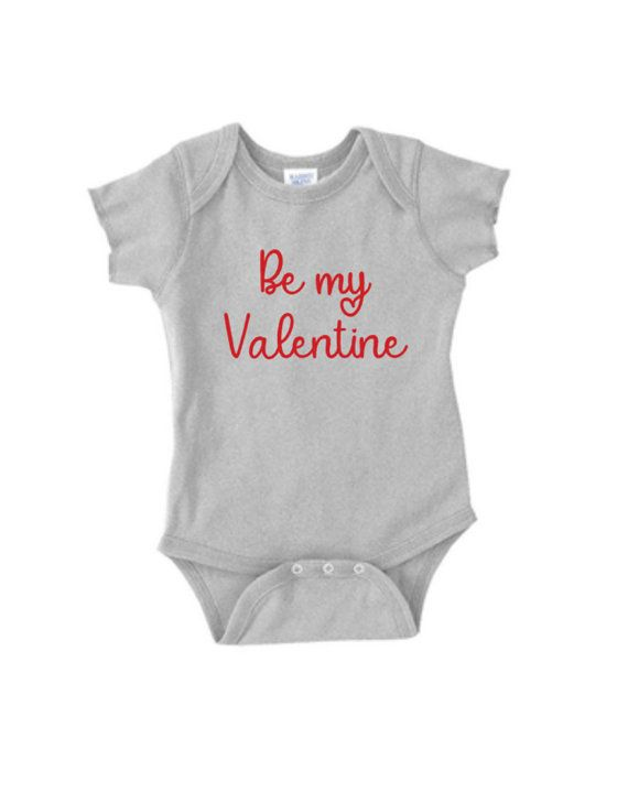 Be My Valentine Baby Clothing Baby Bodysuit Baby Body Suit Baby
