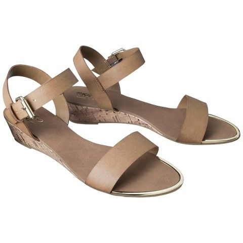 228ac9bf738 Women s Mossimo® Kendra Wedge Sandal - Assorted Colors Target  30 NARROW