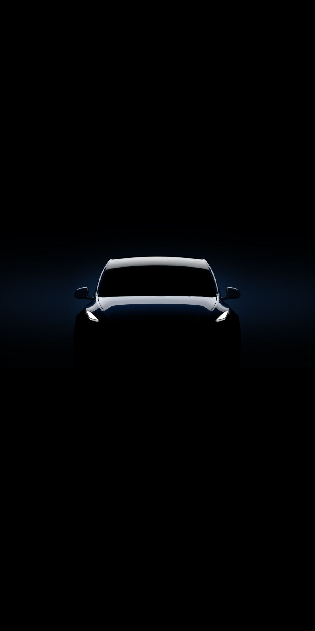 2019 Tesla Model Y Dark Minimal 1080x2160 Wallpaper Tesla Tesla Model Iphone Wallpaper Ocean