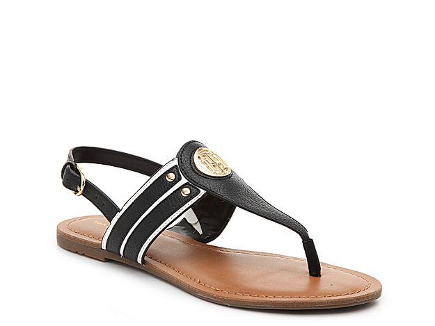 Women Lavas Sandal -Black/White