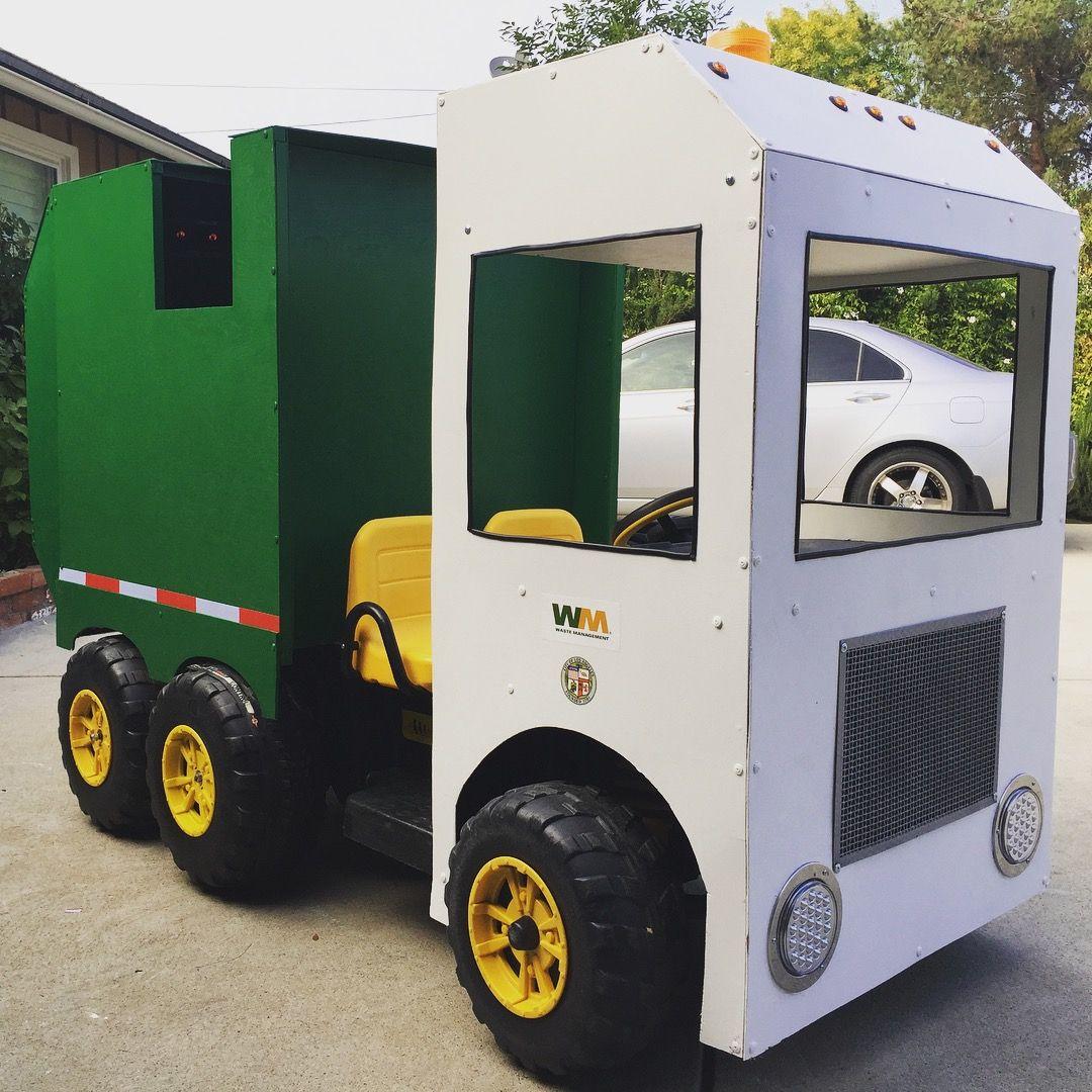 Custom Power Wheels Garbage Truck With Images Custom Power