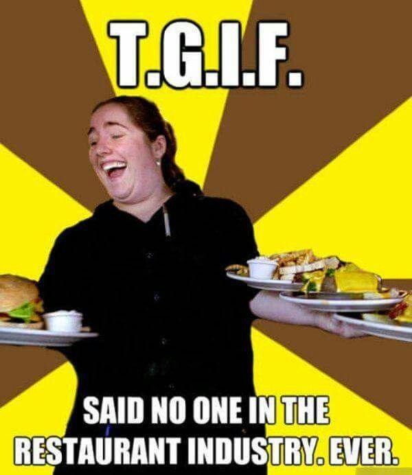 Restaurant Kitchen Humor