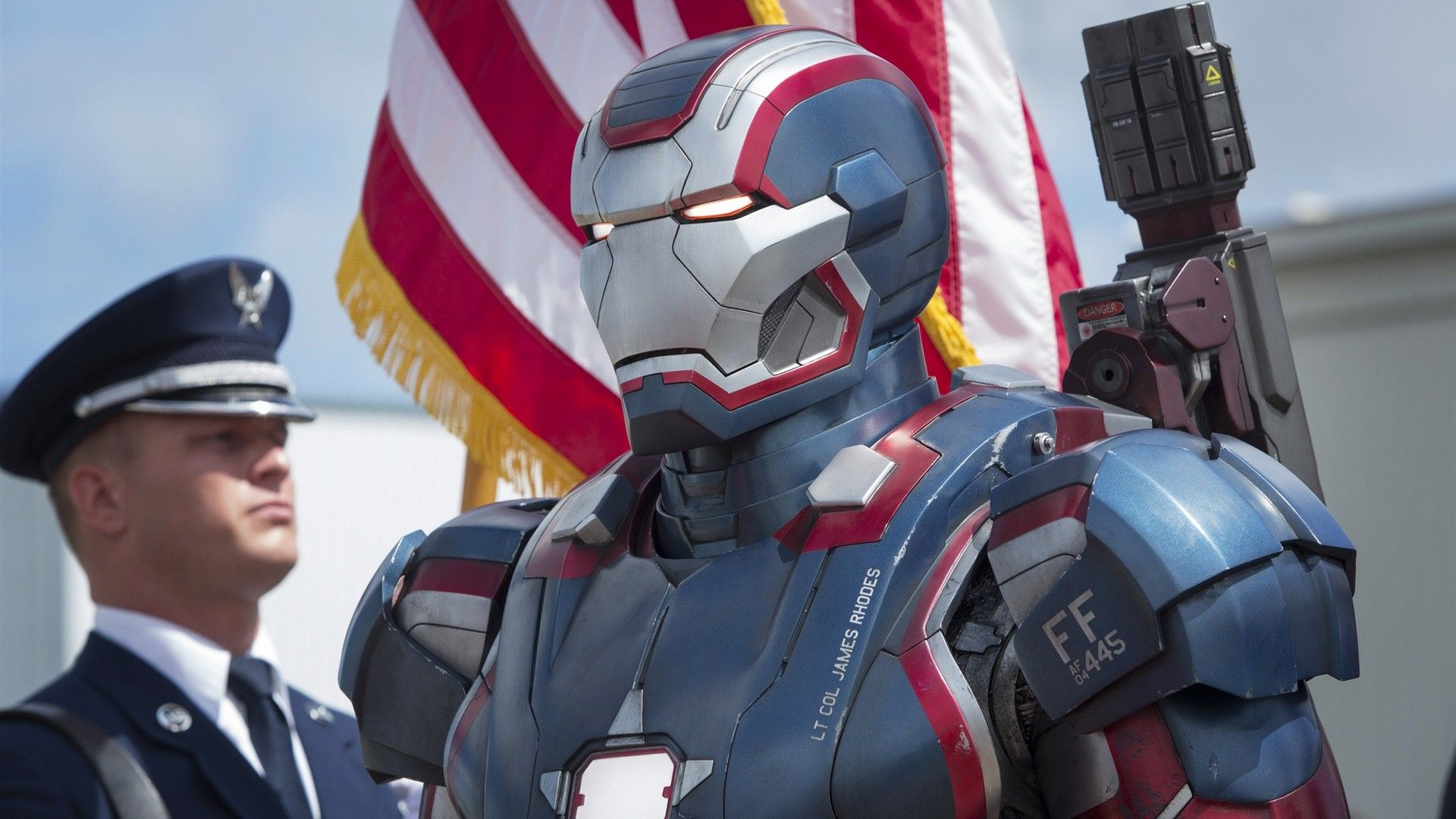 Lt. Col.James Rhodes | Iron-Man 3