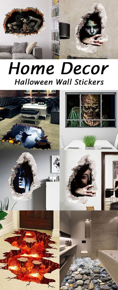 30 more Best Wall Stickers to decorate your home this Halloween - how to decorate home for halloween
