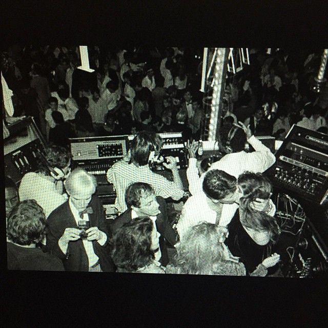 studio 54 dj booth 1977