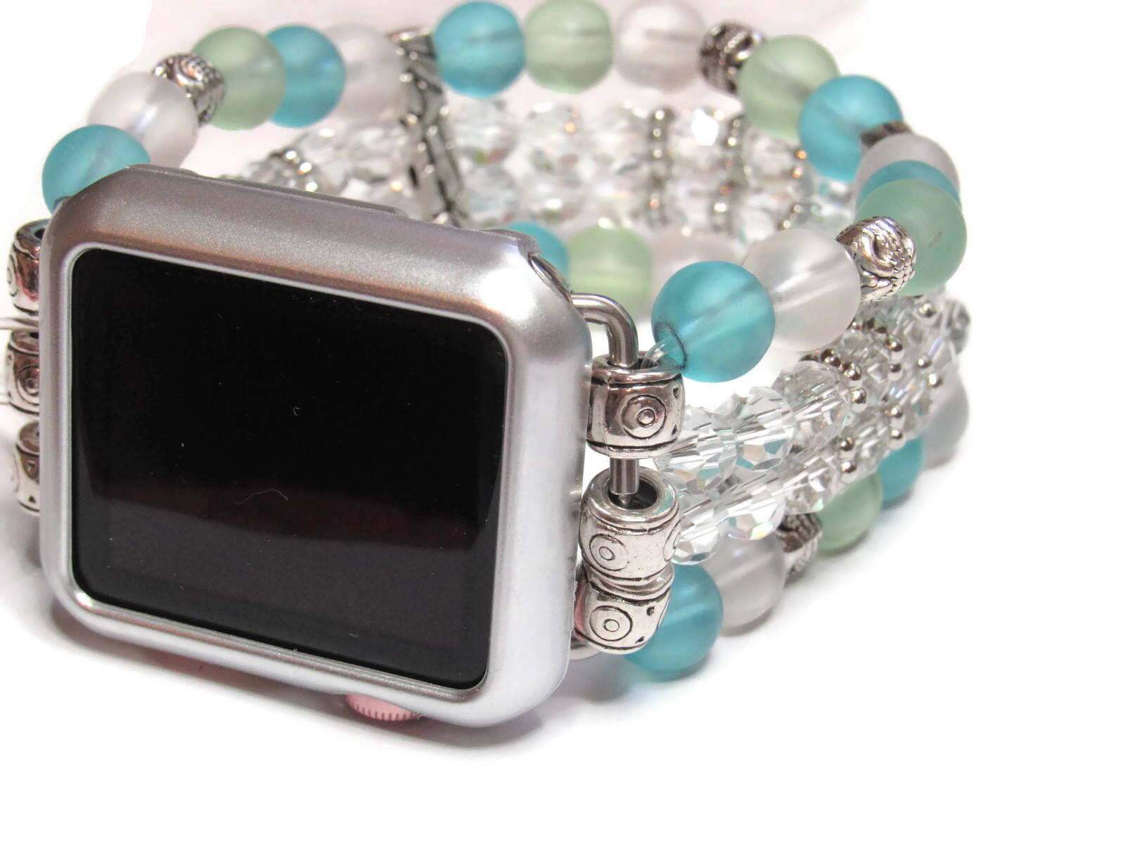 Beaded Apple Watch Band Beadsntime 4 Strand Apple Band