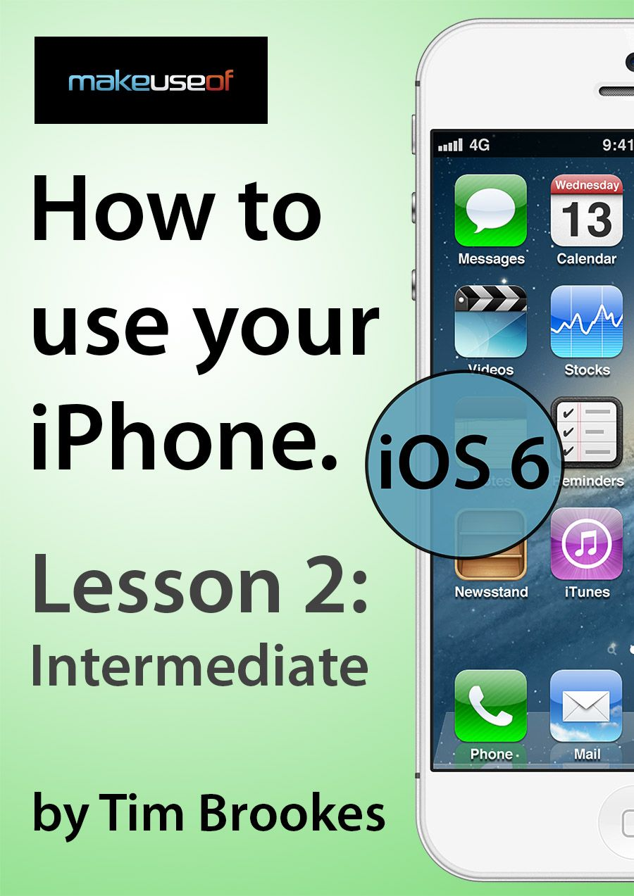 iphone 2 intermediate ios6 rh pinterest com manual do ipad mini 2 manual to iphone 6s