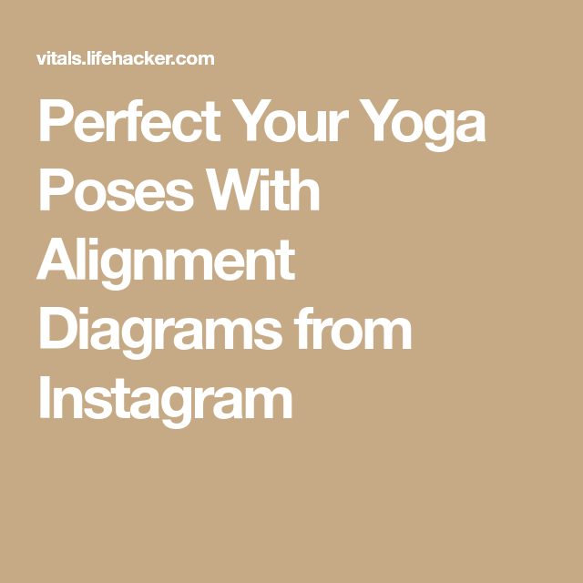 Is Your Yoga Form Terrible? Find Out With an Alignment Diagram