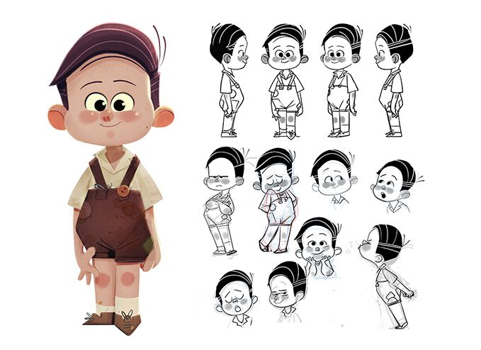 A Little Taste From An Exciting Project Character Design