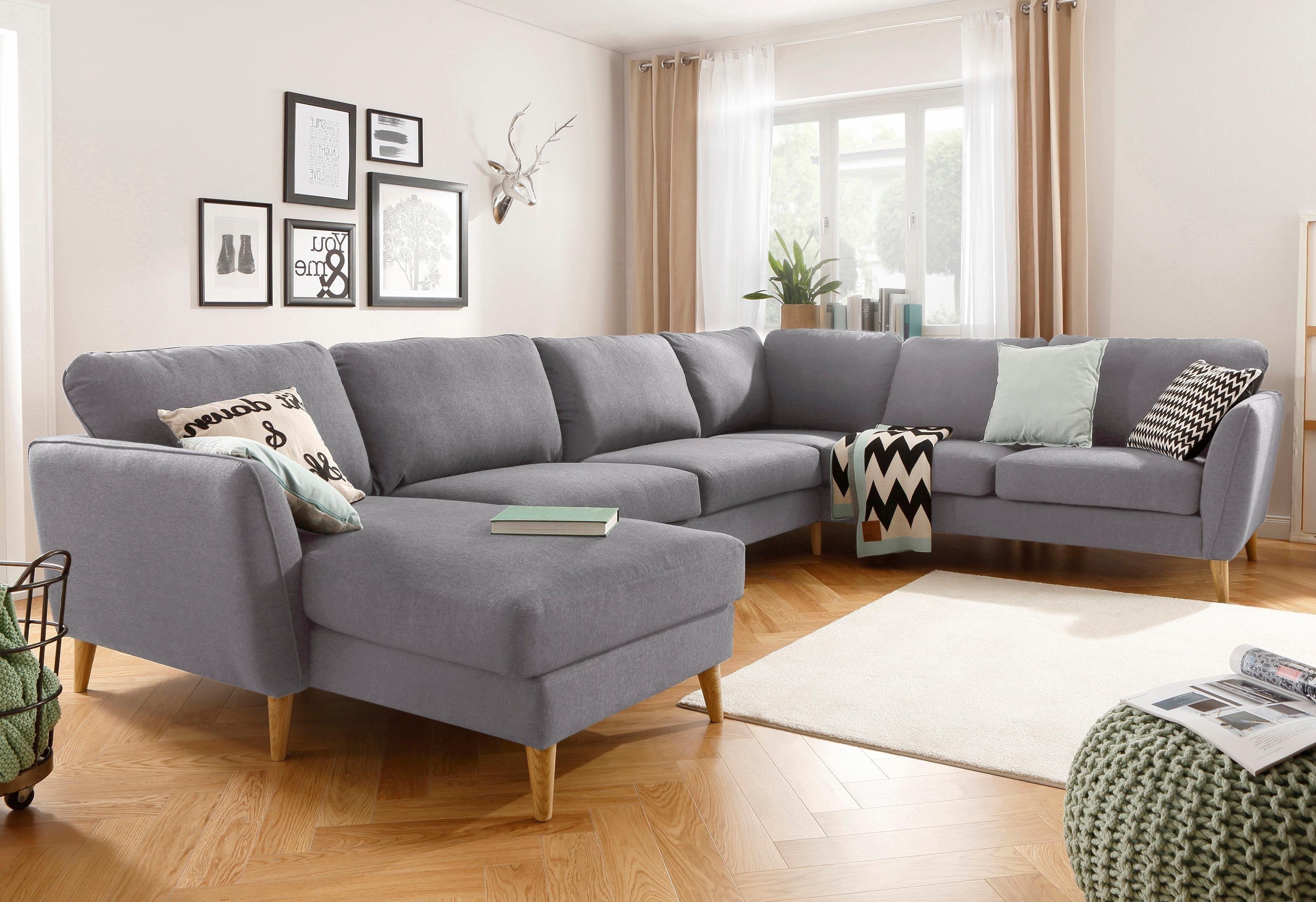 Home Affaire Wohnlandschaft Marseille In Skandinavischem Wohnen Wandfarbe Wohnzimmer Einrichtung Skandinavischer Stil
