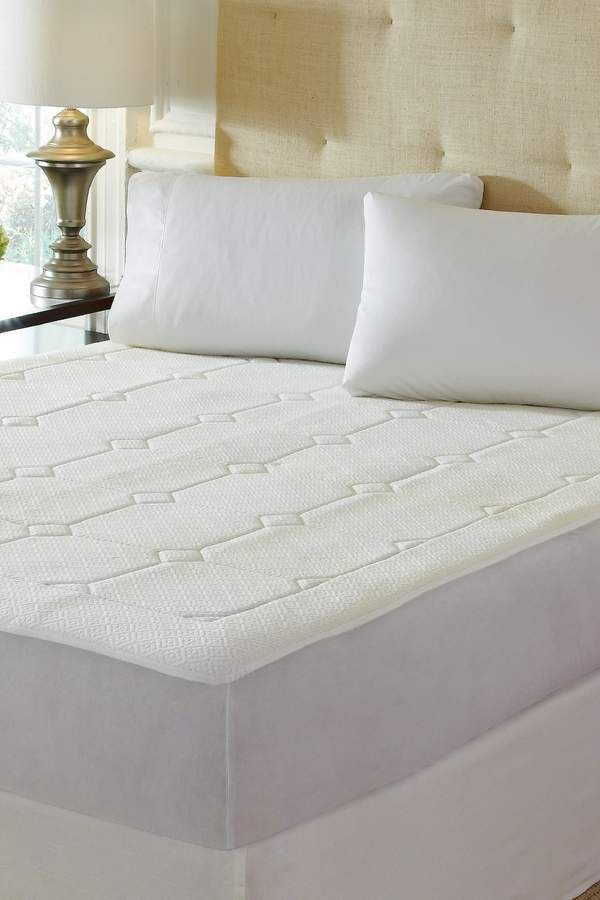 Rio Home Pure Rest Quilted Memory Foam Mattress Pad Cal King Mattress Pad Memory Foam Mattress Pad Foam Mattress Pad