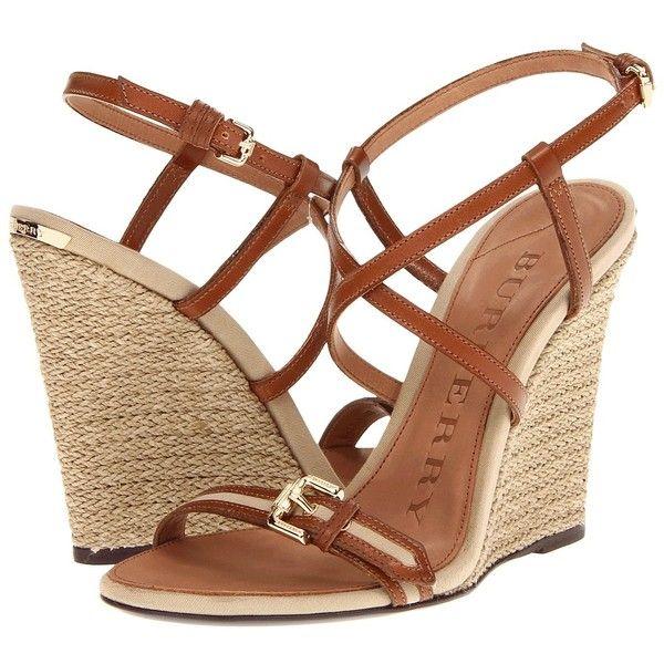5731e771680 Burberry Cotton Gabardine Espadrille Wedges #fashion #howtowear ...