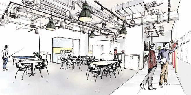 This Week S Buildingdoodle Sketch Is By Hannah Brownlie Personal Assistant To Directors At