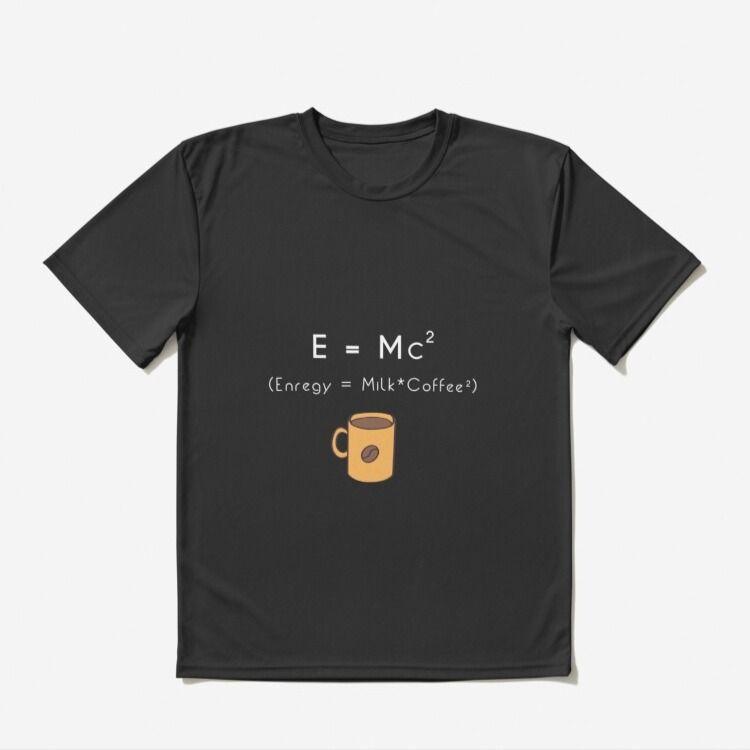 E=mc2 - funny science jokes physics t shirt