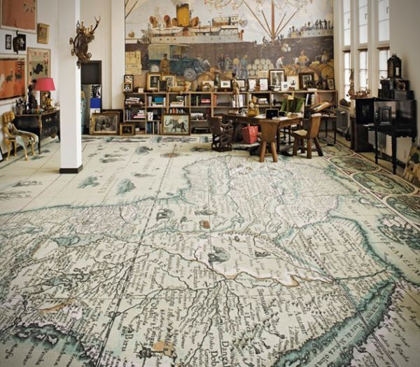 Area Pavimenti has created a series of word map carpets. They are basically simple carpets that we all use in our homes but they have maps printed on them. It's a very ingenious idea that transforms a simple carpet into an original piece for the home.
