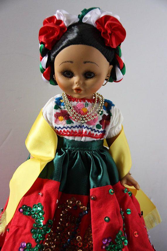 Ethnic Vintage Doll