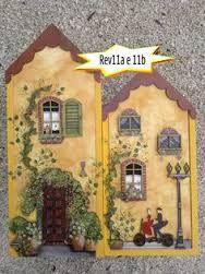 casinha de mdf pintada - Pesquisa Google