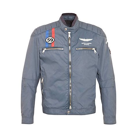 bc4f1fdb38e Hackett London Aston Martin Racing Moto Jacket