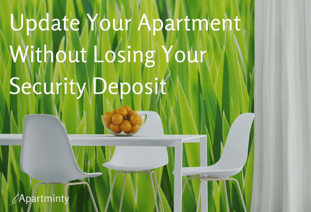 Is your new apartment in need of a little personality to really feel like home? Here's how to update your apartment without losing your security deposit.