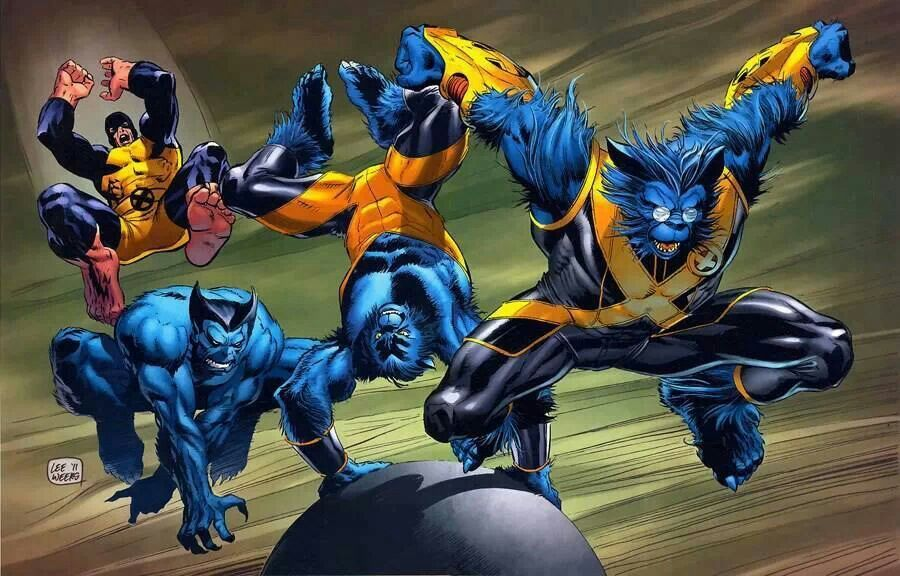 Evolution Of Beast Beast Marvel Beast Xmen Marvel Comics
