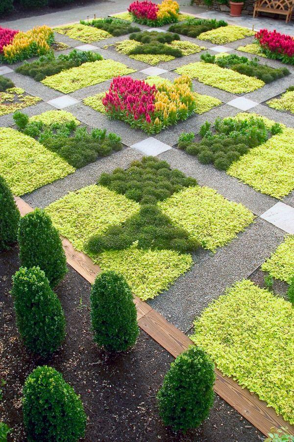 absolutely fabulous quilt garden at north carolina arboretum asheville nc - Garden Ideas North Carolina