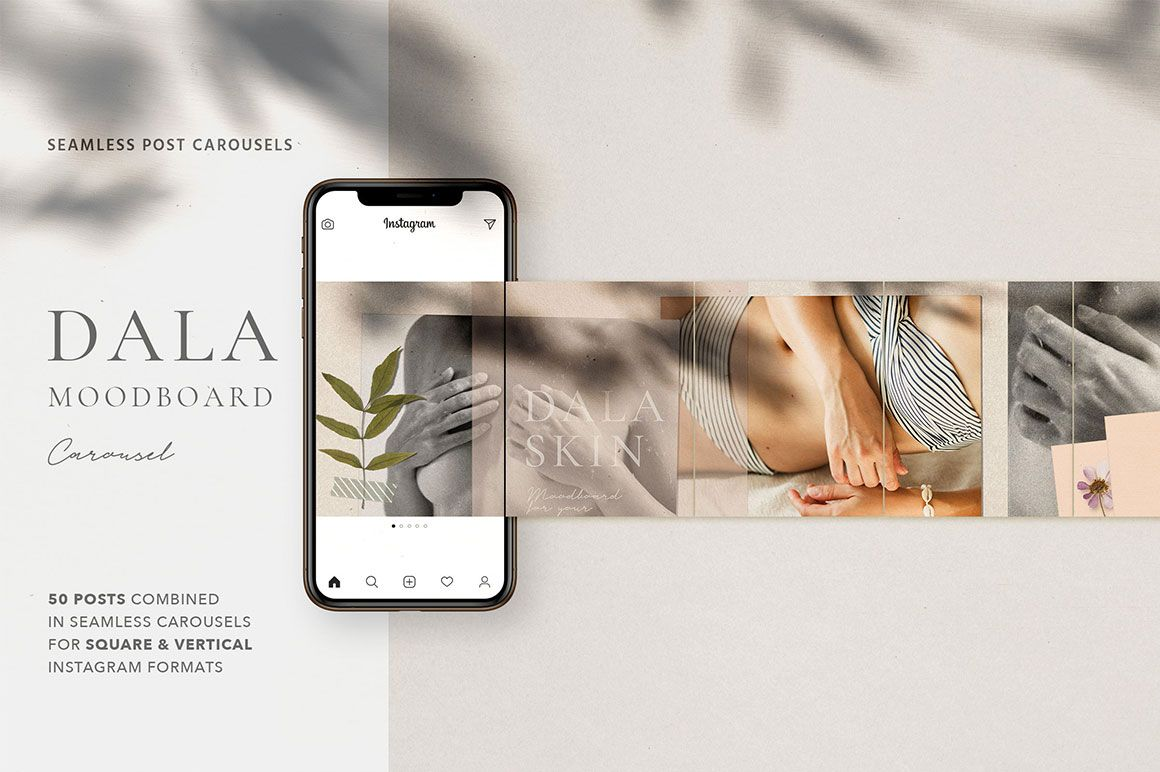 Dala Carousel Post Templates【2020】 テンプレート, デザイン