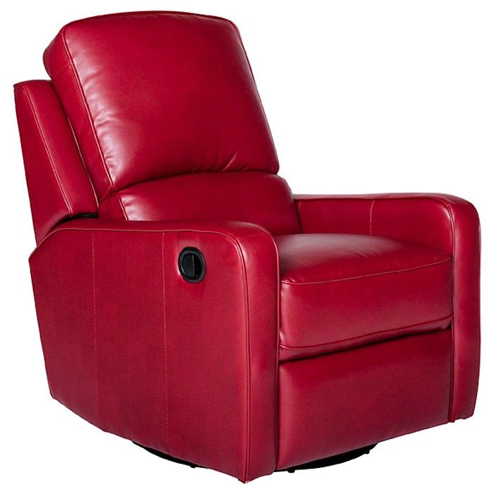 Opulence Home Perth Bonded Leather Swivel-Glider-Recliner - - - Massage  Chairs , Recliners , Bedroom Furniture , and Mattresses