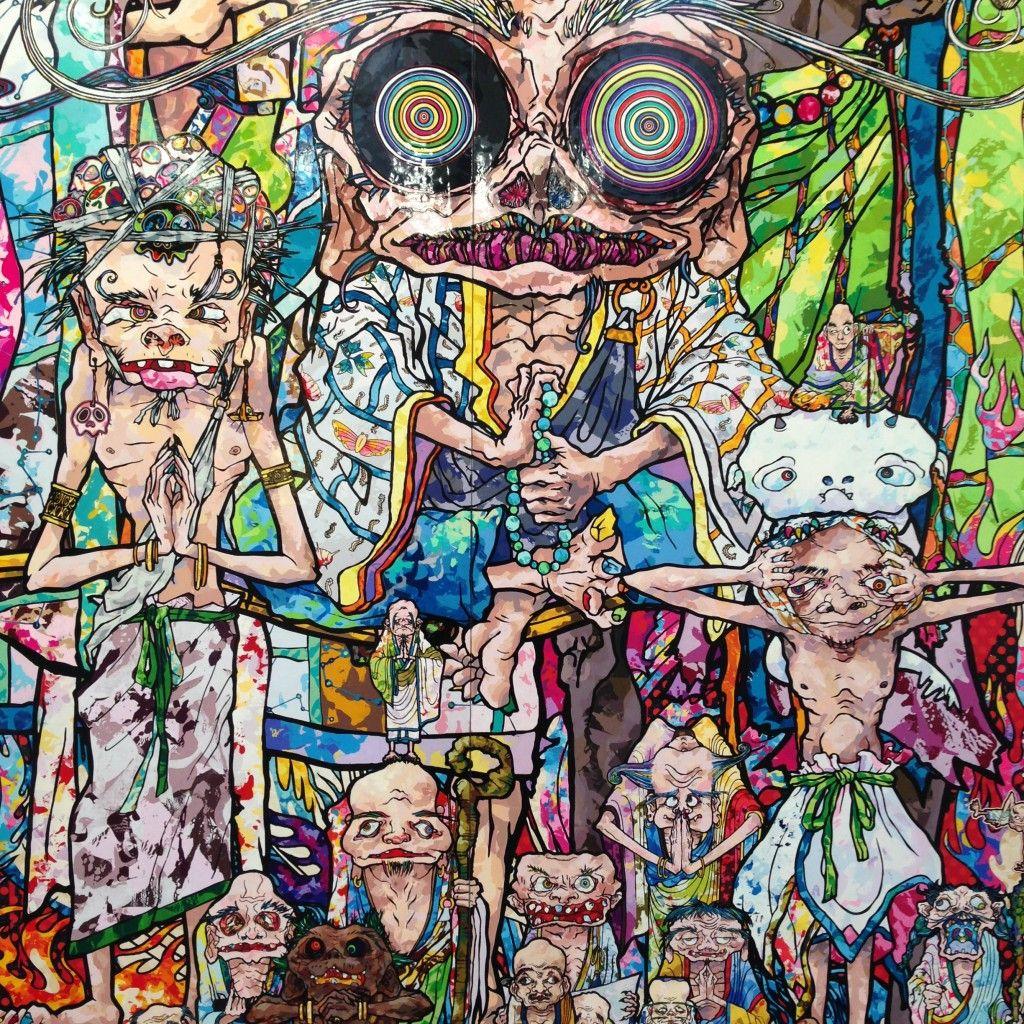 Takashi Murakami på Gagosian Gallery ifjor er noe av det beste jeg har sett.