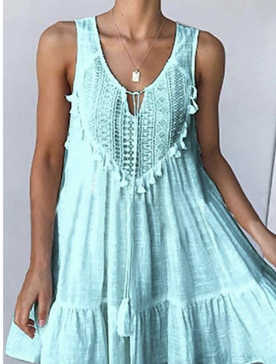 Summer Dress Summer Dresses Tank Top Fashion Dresses [ 1209 x 917 Pixel ]
