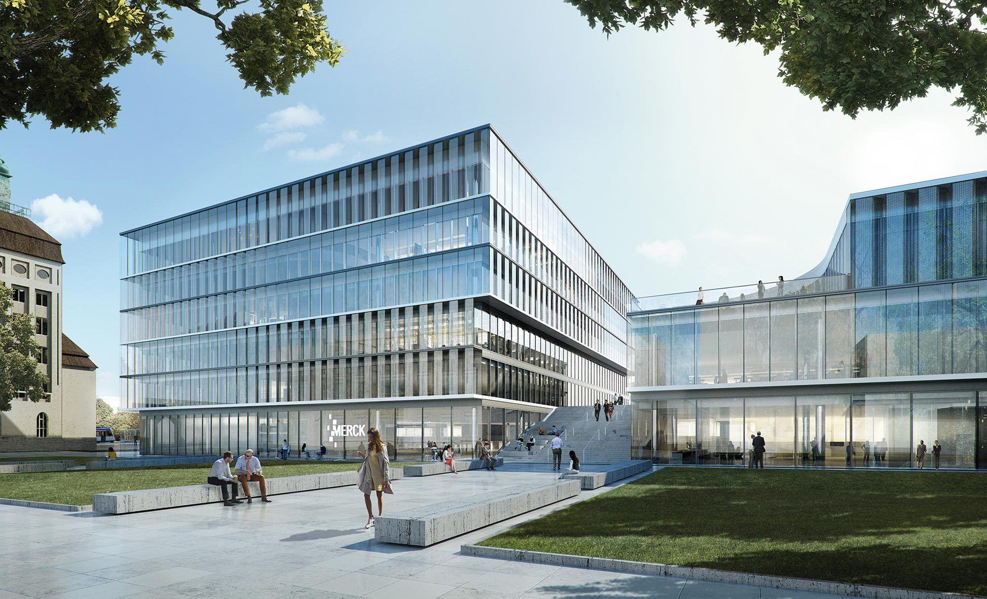 Architekten Darmstadt kleeblatt mit ren innovationszentrum henn in darmstadt