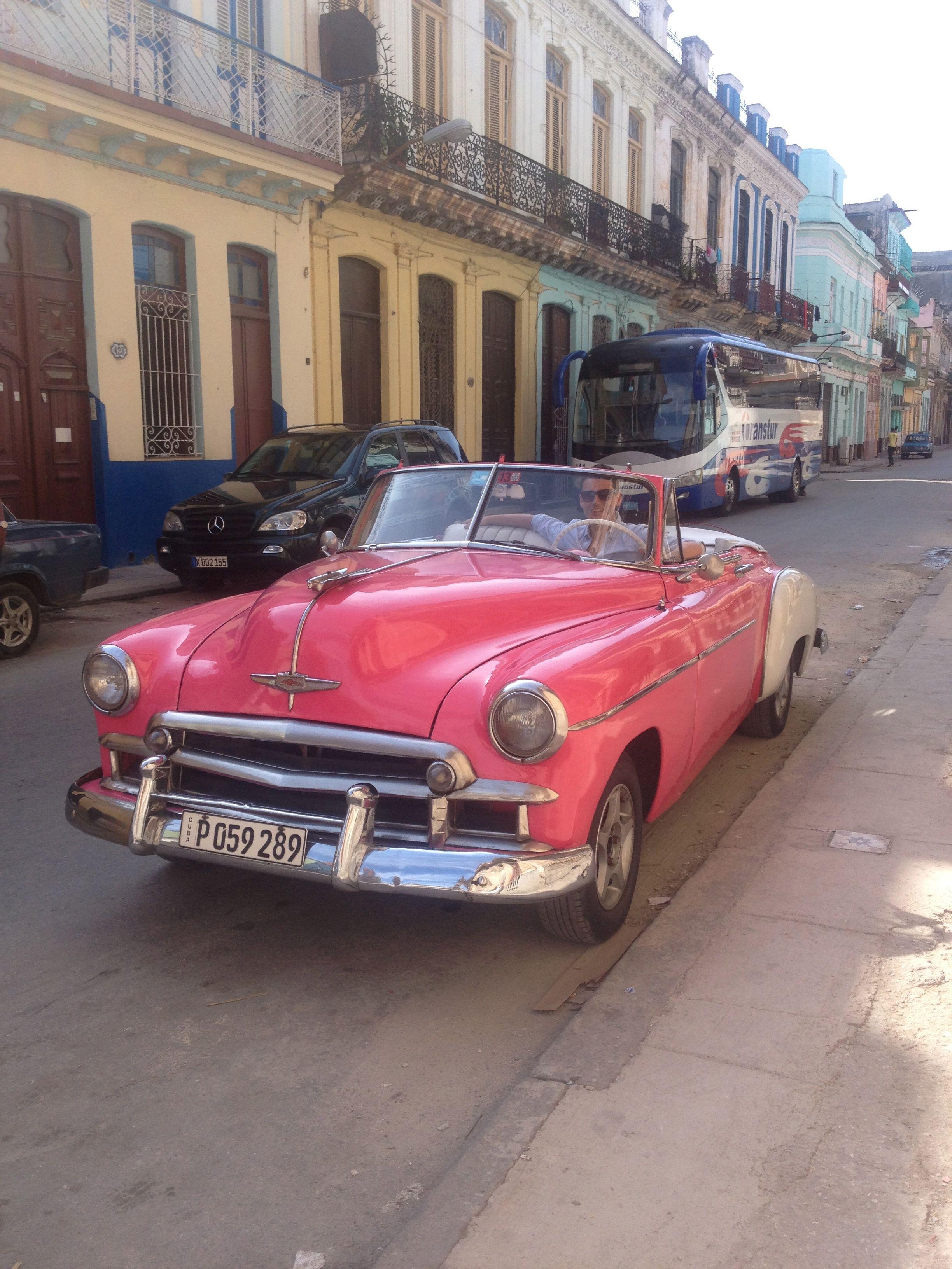 My Gorgeous Son Driving A Fabulous Car Havana Cod S Cars Of Cuba