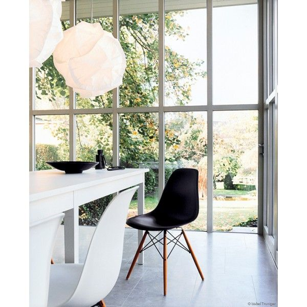 Chaise Dsw Eames Vitra Blanche