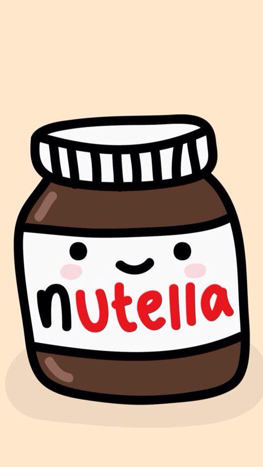 Nutella swag pinterest fond ecran cran et dessin - Petit pot de nutella ...