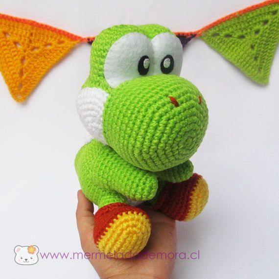 FDbyK4TT - Famous Dino CAL : Part I in 2020 | Crochet super mario ... | 570x570