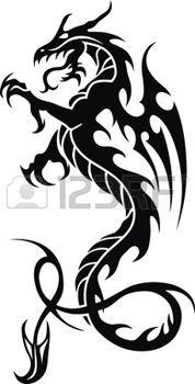 Photo of Dragon Tattoo Stock Fotos und Bilder