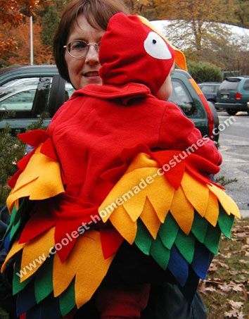 Coolest Homemade Parrot Costume Ideas and Tips & Coolest Homemade Parrot Costume Ideas and Tips | Parrot costume ...