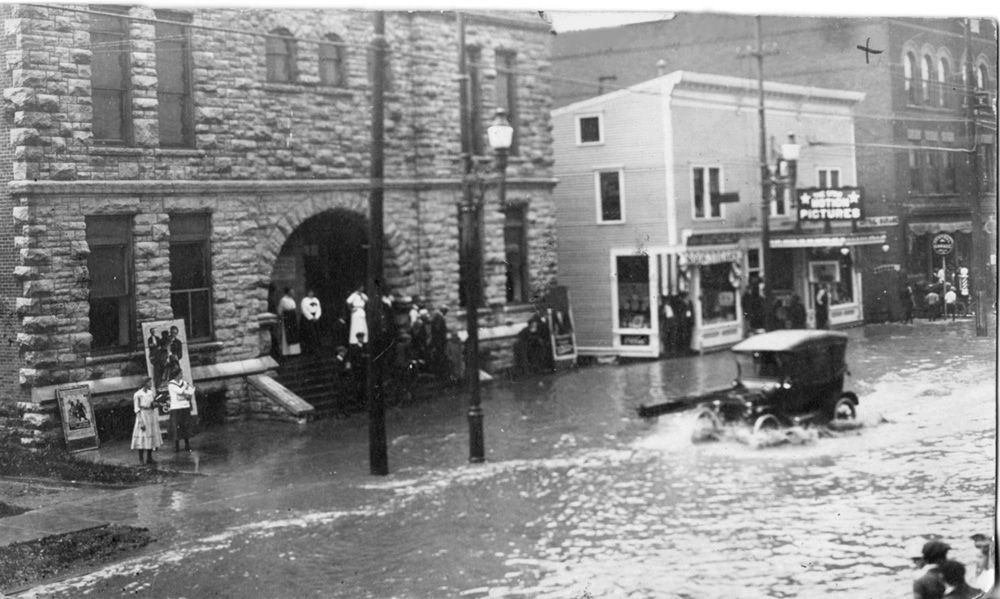 Flood In 1917 Old Photos Towns Photo