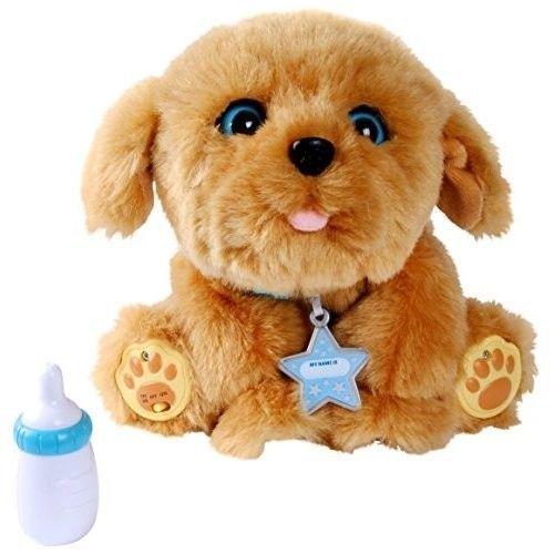 Toy Pet Dog For Kids Puppy Feeding Moving Hug Baby Boys Girls