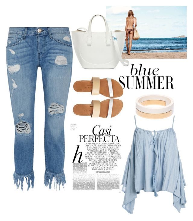 """Чаек погонять"" by yana-miroshkina on Polyvore featuring Whiteley, Sans Souci, 3x1, Isapera and Marni"
